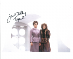 "Janet Fielding ""Tegan"" (Doctor Who) genuine signed autograph 10 x8, 10487"